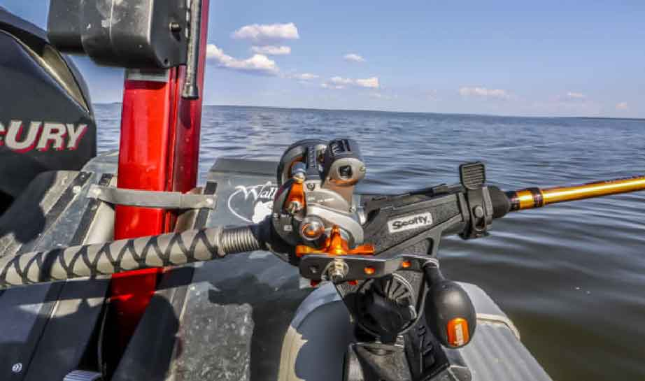trolling reels for walleye