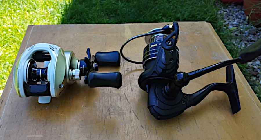 Use A Spinning Vs. Baitcasting Reel