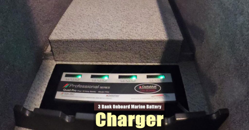 Best 3 Bank Onboard Marine Battery Charger