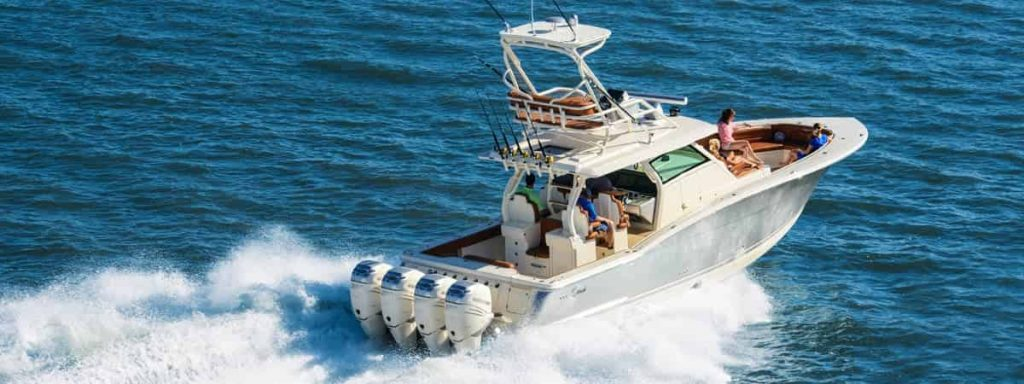 offshore fishing boat