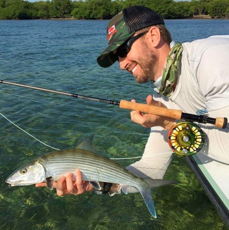 What size fish can you catch on a 5 weight fly rod