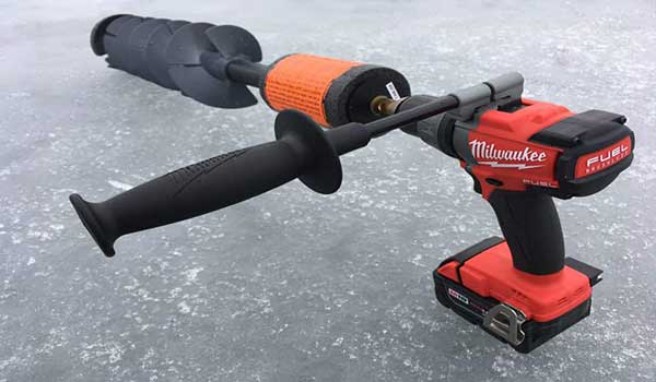 How to Use Cordless Drill with Ice Auger Adapters